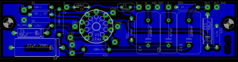 B preamp on